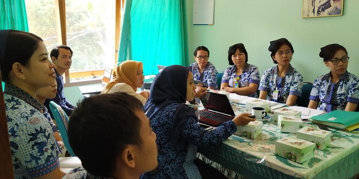 Kunjungan Dinas Kesehatan Kabupaten & Provinsi